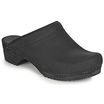 Zapatos Mujer Zuecos (Clogs) Sanita CHRISSY Negro