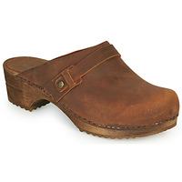 Zapatos Mujer Zuecos (Clogs) Sanita URSANA Marrón