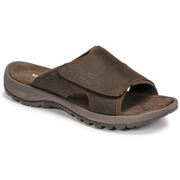 Zapatos Hombre Zuecos (Mules) Merrell SANDSPUR II SLIDE Marrón