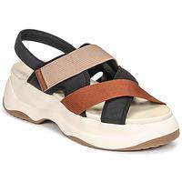 Zapatos Mujer Sandalias Vagabond Shoemakers ESSY Blanco / Rojizo / Negro