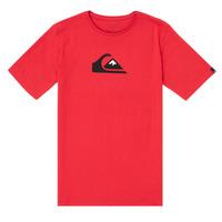 textil Niño Camisetas manga corta Quiksilver COMP LOGO Rojo