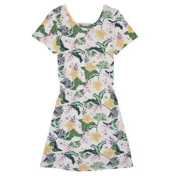 textil Niña Vestidos cortos Roxy THE CLOUDS Multicolor