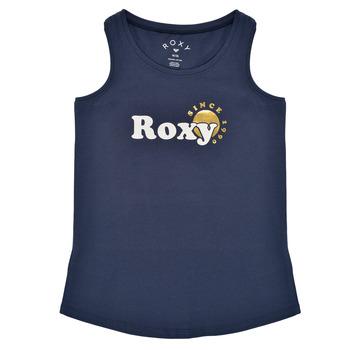 textil Niña Camisetas sin mangas Roxy THERE IS LIFE FOIL Marino