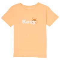 textil Niña Camisetas manga corta Roxy DAY AND NIGHT FOIL Rosa