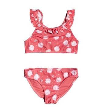 textil Niña Bikini Roxy TEENY EVERGLOW CROP TOP SET Rosa