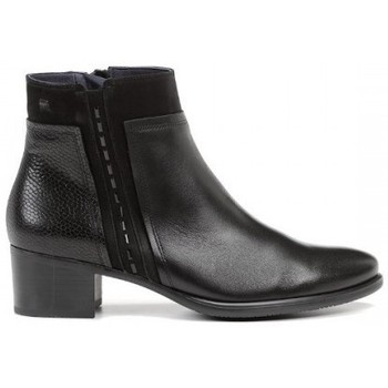 Zapatos Mujer Botines Dorking BOTIN COMBINADO DE Negro
