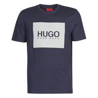 textil Hombre Camisetas manga corta HUGO DOLIVE Marino