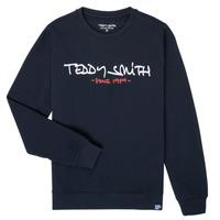 textil Niño Sudaderas Teddy Smith S-MICKE Marino