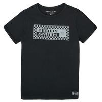 textil Niño Camisetas manga corta Teddy Smith T-VANY Negro