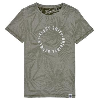 textil Niño Camisetas manga corta Teddy Smith T-OTYS Kaki