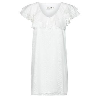 textil Mujer Vestidos cortos Molly Bracken LA700E21 Blanco