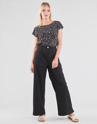 textil Mujer Pantalones fluidos Molly Bracken EF1424P21 Negro