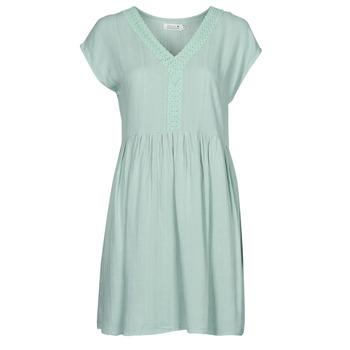 textil Mujer Vestidos cortos Molly Bracken G801E21 Verde / Claro
