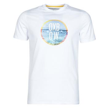 textil Hombre Camisetas manga corta Oxbow N1TERO Blanco