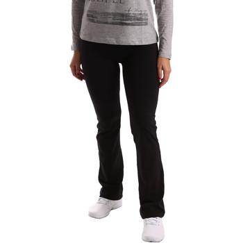 textil Mujer Pantalones de chándal Key Up 5LI20 0001 Negro