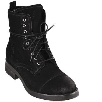 Zapatos Mujer Botines Mally 5038 Negro