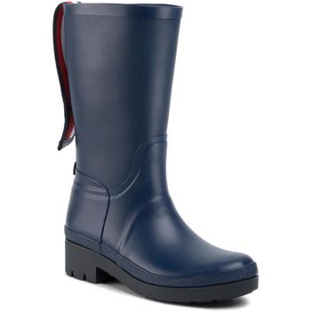 Zapatos Mujer Botas de agua Tommy Hilfiger FW0FW04583 Azul