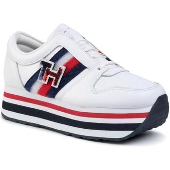 Zapatos Mujer Zapatillas bajas Tommy Hilfiger FW0FW04595 Blanco