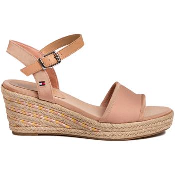 Zapatos Mujer Sandalias Tommy Hilfiger FW0FW04773 Rosado