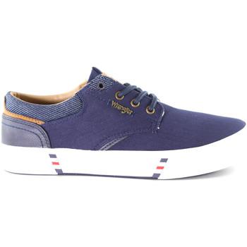 Zapatos Hombre Zapatillas bajas Wrangler WM01000A Azul