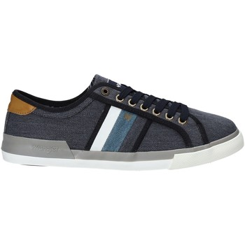 Zapatos Hombre Zapatillas bajas Wrangler WM91103A Azul