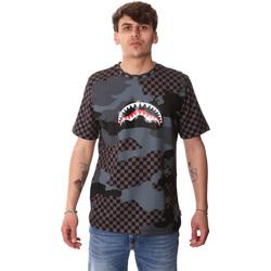 textil Hombre Camisetas manga corta Sprayground SP01820BLA Negro