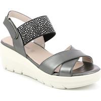 Zapatos Mujer Sandalias Grunland SA1880 Negro