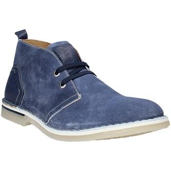 Zapatos Hombre Botas de caña baja Rogers BK 61 Azul