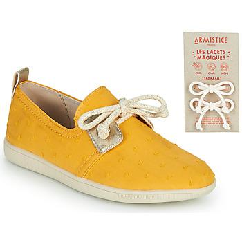 Zapatos Niños Zapatillas bajas Armistice STONE ONE Amarillo