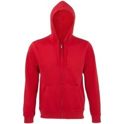 textil Hombre Sudaderas Sols 03105 Rojo
