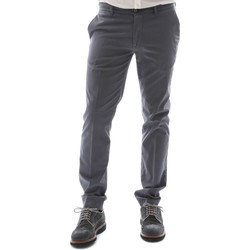 textil Hombre Pantalones chinos Sei3sei 6OYSTER E1653 Negro