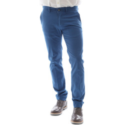 textil Hombre Pantalones chinos Sei3sei 6DAYTONA E1649 Azul