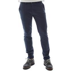 textil Hombre Pantalones chinos Sei3sei 6OYSTER E1669 Azul