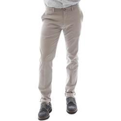 textil Hombre Pantalones chinos Sei3sei 6OYSTER E1669 Negro