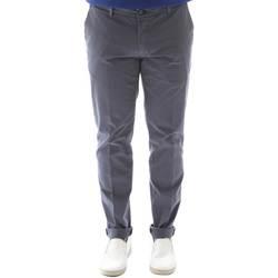 textil Hombre Pantalones chinos Sei3sei 6OYSTER E1648 Negro