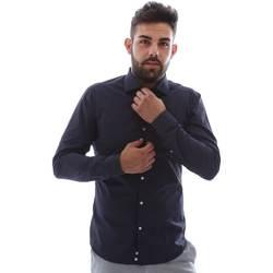 textil Hombre Camisas manga larga Gmf EQ2 1079 952151/02 Azul