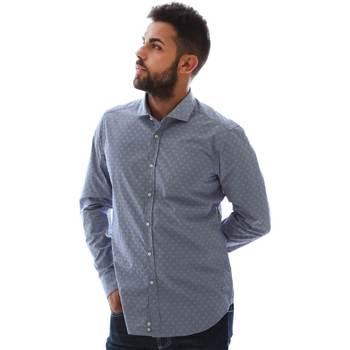 textil Hombre Camisas manga larga Gmf GMF3 3218 961153/01 Azul