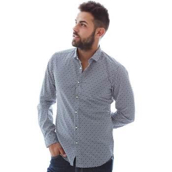 textil Hombre Camisas manga larga Gmf 961151/3 Azul