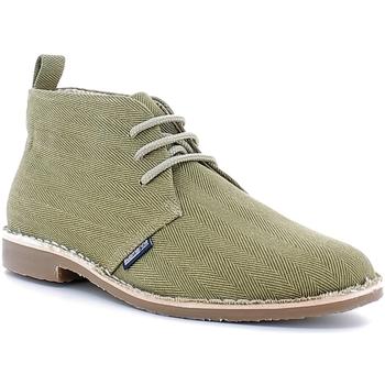 Zapatos Hombre Botas de caña baja Submariine London SML610026 Verde