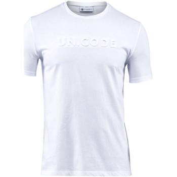 textil Hombre Camisetas manga corta Lumberjack CM60343 001 508 Blanco