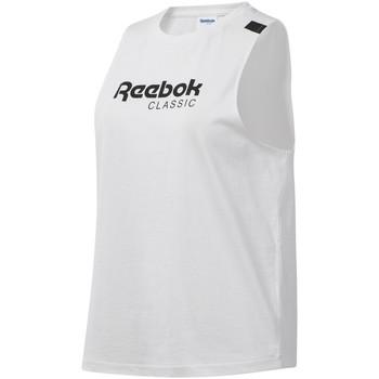 textil Mujer Camisetas sin mangas Reebok Sport DT7235 Blanco