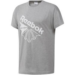 textil Hombre Camisetas manga corta Reebok Sport DT8213 Gris