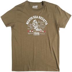 textil Hombre Camisetas manga corta Key Up 2G78S 0001 Verde