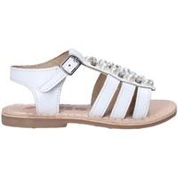 Zapatos Niña Sandalias Asso 65954 Blanco