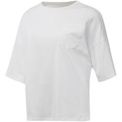 textil Mujer Camisetas manga corta Reebok Sport DU4048 Blanco