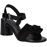 Zapatos Mujer Sandalias Elvio Zanon EJ5605P.L Negro