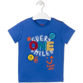 textil Niños Camisetas manga corta Losan 015-1032AL Azul