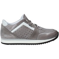 Zapatos Hombre Zapatillas bajas Exton 558 Gris