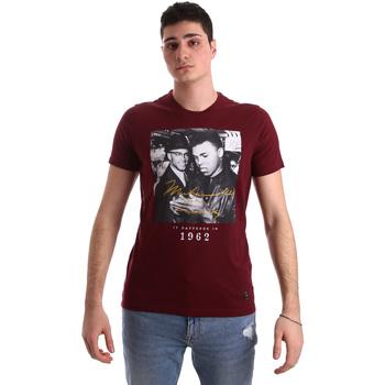 textil Hombre Camisetas manga corta Gaudi 921BU64003 Rojo