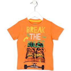 textil Niños Camisetas manga corta Losan 715 1214AC Naranja